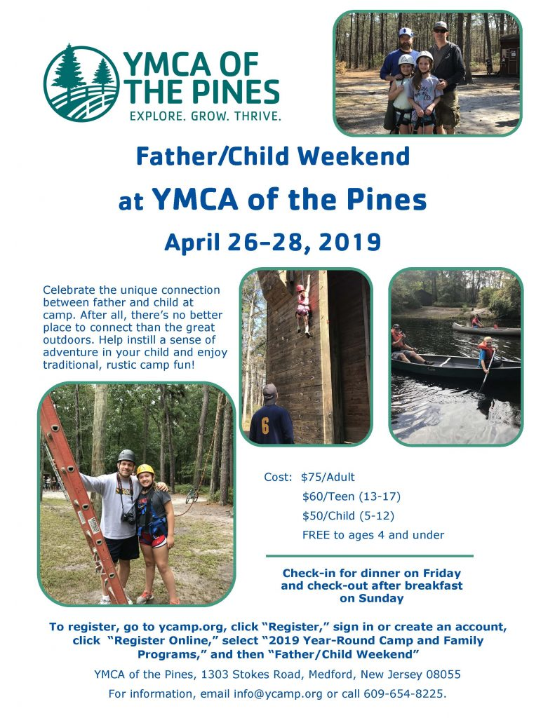 Father/Child Weekend @ YMCA of the Pines
